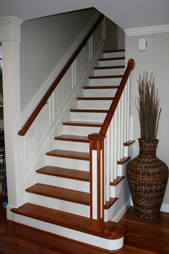 Leeds Remodel Cherry Staircase